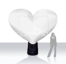 Miete Werbeträger Herz MAX - 280 cm
