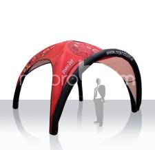 Miete Werbeträger aufblasbares Pneu Zelt - 400 cm