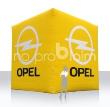 Würfel aufblasbar - Opel - 500 cm