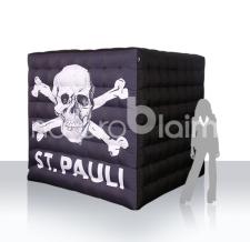Würfel aufblasbar - St. Pauli
