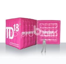 Werbewürfel aufblasbar - T-Mobile