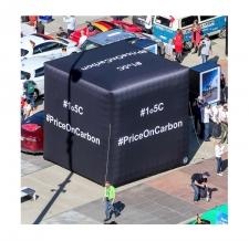 aufblasbarer Riesenwürfel - #105c