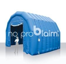 Aufblasbares Zelt - Airshelter blau