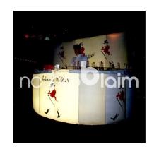 Aufblasbare Verkaufstand und Promotion Theke - Info Bar Halbkreis mit Rückwand Johnnie Walker