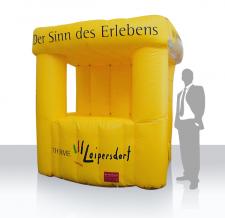 aufblasbarer Promotionstand - Infostand Classic Loipersdorf