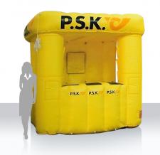 Messe- und Promotionstand aufblasbar - aufblasbarer Info Stand Classic PSK