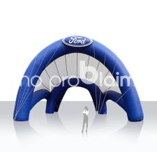 Riesenzelt, Messezelt aufblasbar Sonderform - Ford