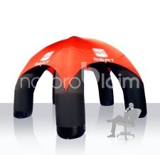 Zelt mit Gebläse Modern 5-Bein - Seat
