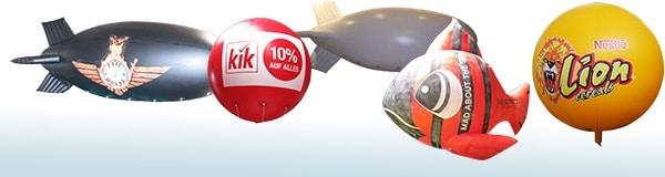 Ein luftiger Eyecatcher: Der Heliumballon