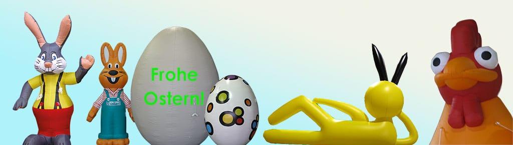 Inflatables für Ostern