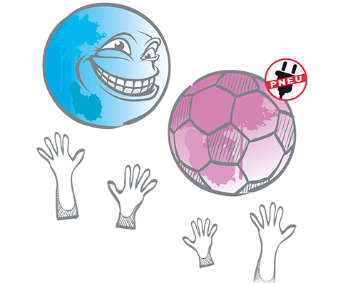 icon Eventbälle, Ballons, Riesenbälle