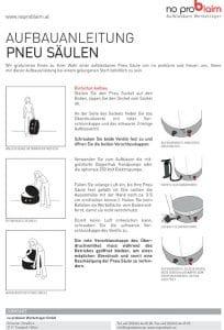 no-problaim-aufbauanleitung-pneu-saeulen